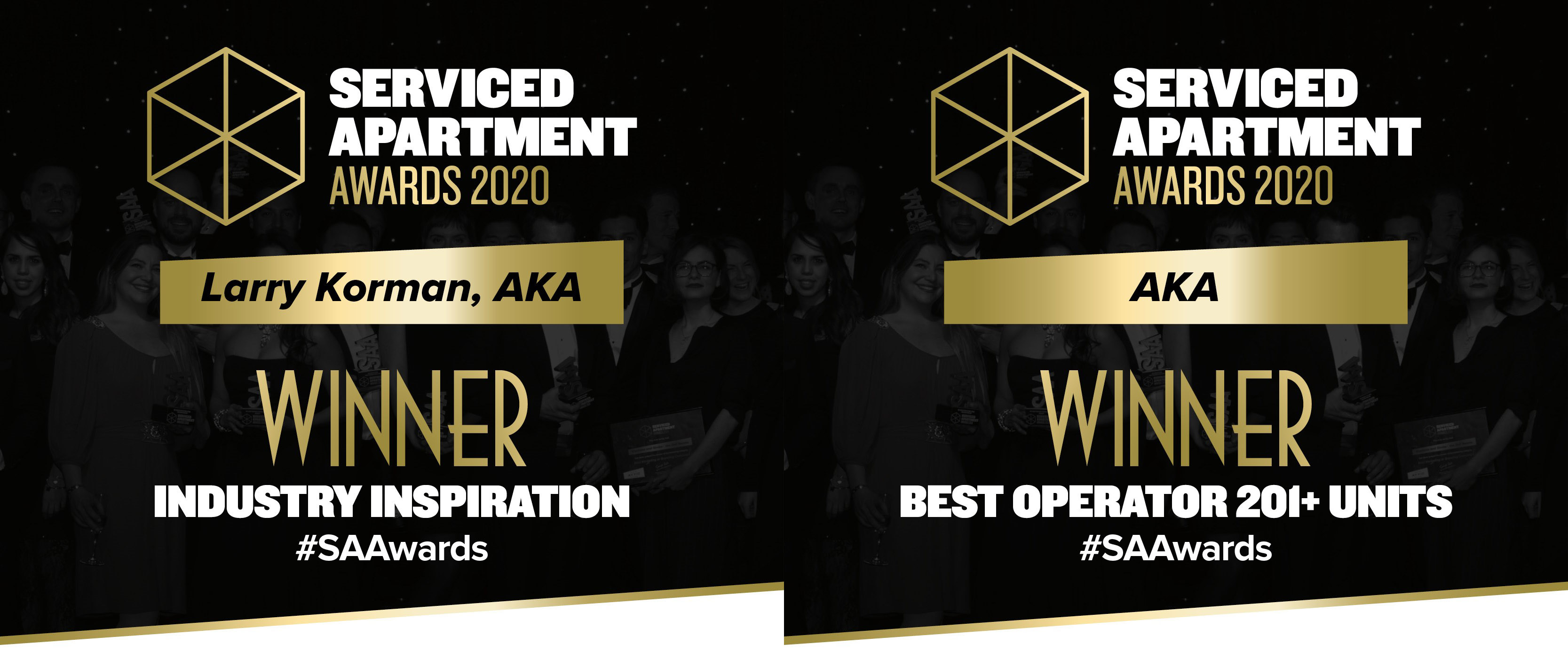 Awards Graphic, Best Operator and Industry Innovation